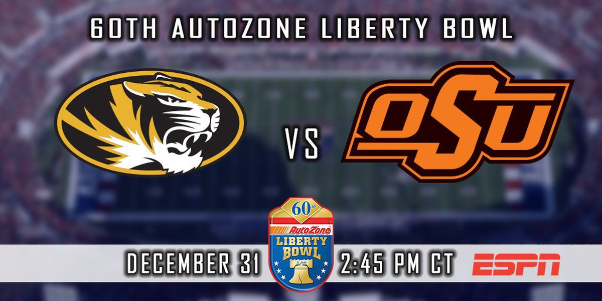 Mizzou to face old rival Oklahoma State at AutoZone Liberty Bowl