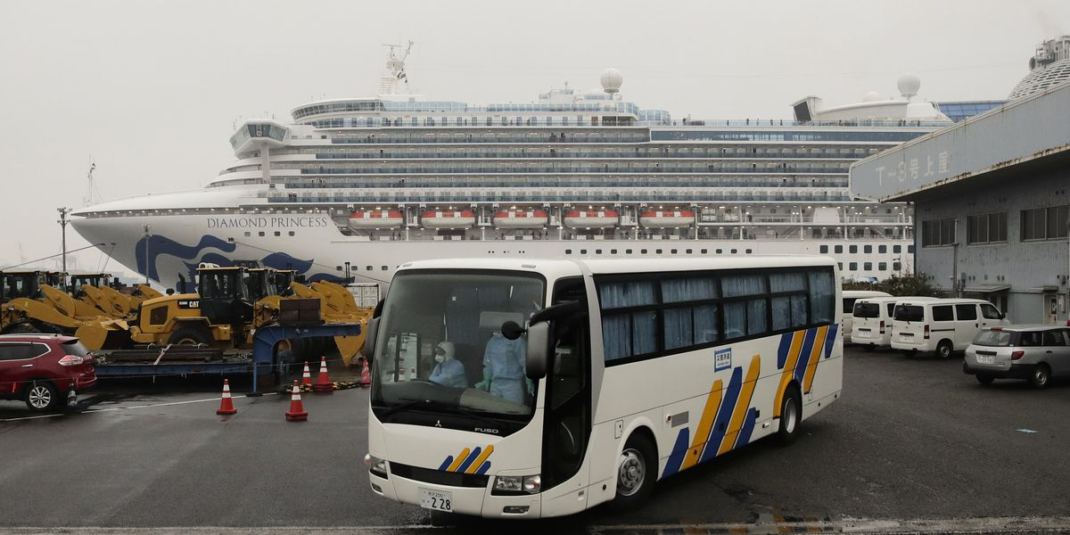 Americans who left cruise trade one quarantine for another
