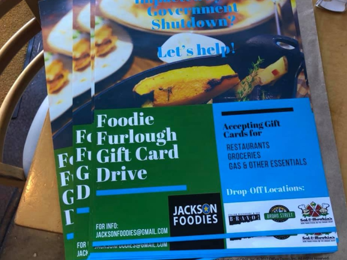 Local foodie group collecting gift cards for furloughed federal employees