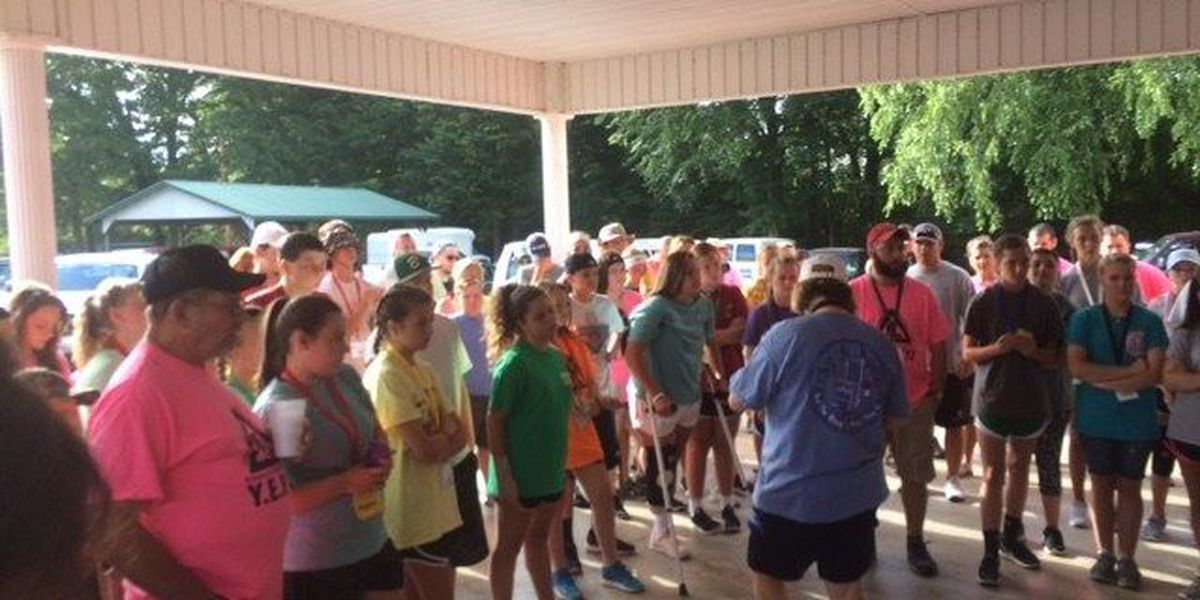 Youth spend the week working, witnessing, and worshiping