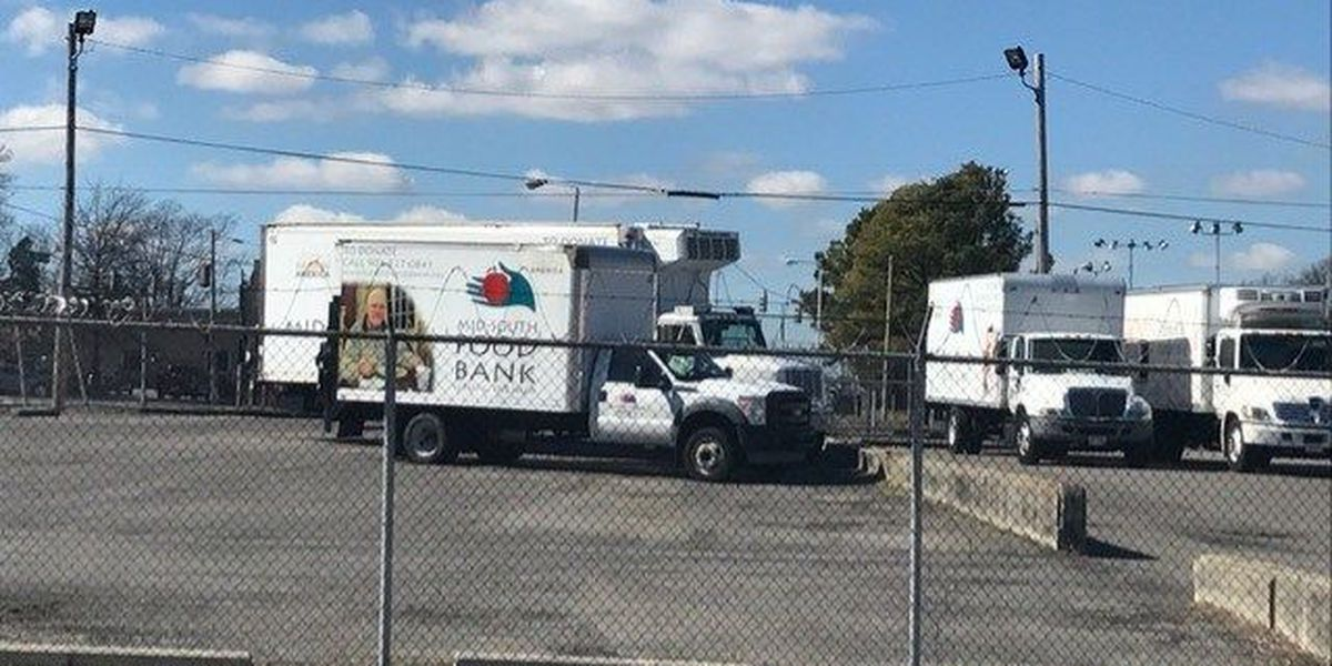Food Bank loses food because of power outage