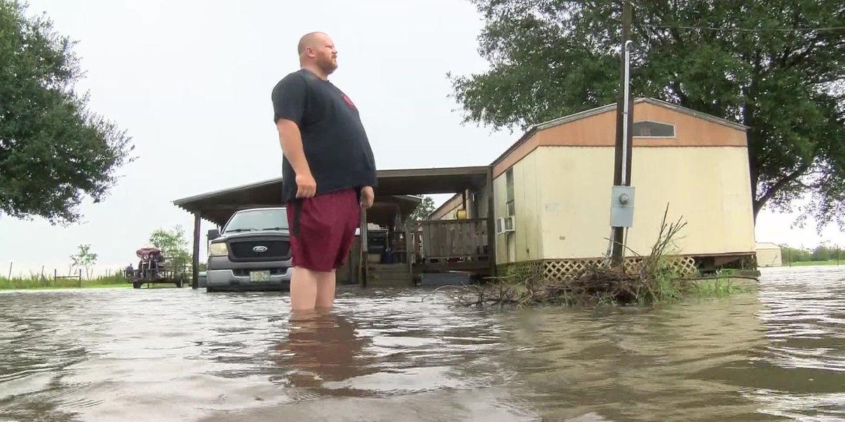 Louisiana residents prepare for Harvey's remnants