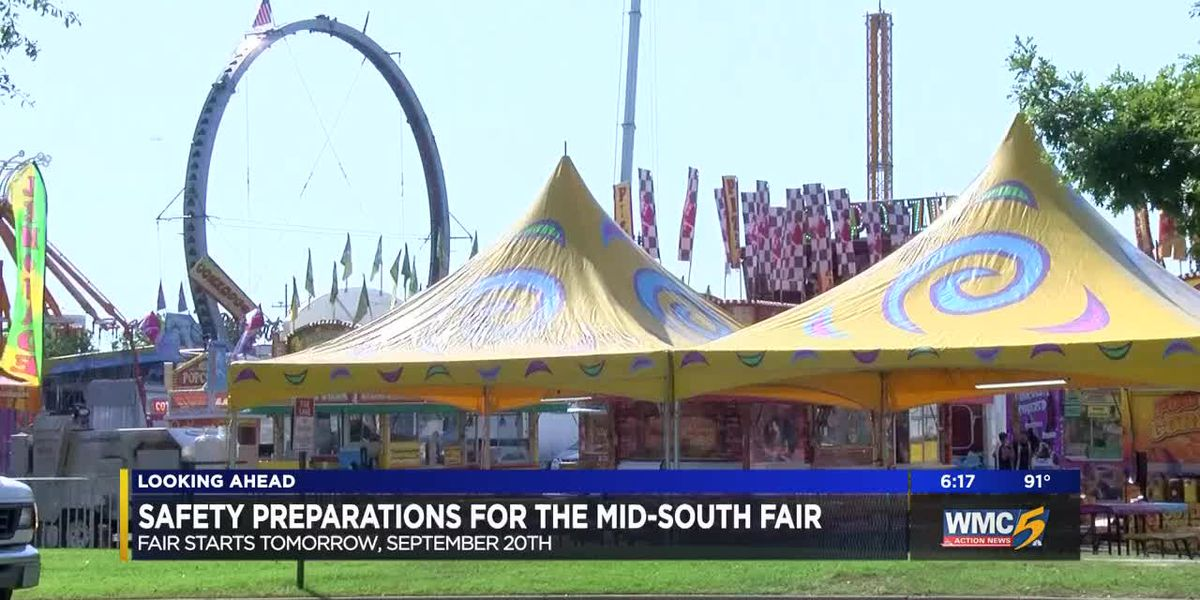 Safety top of mind as Mid-South Fair kicks off