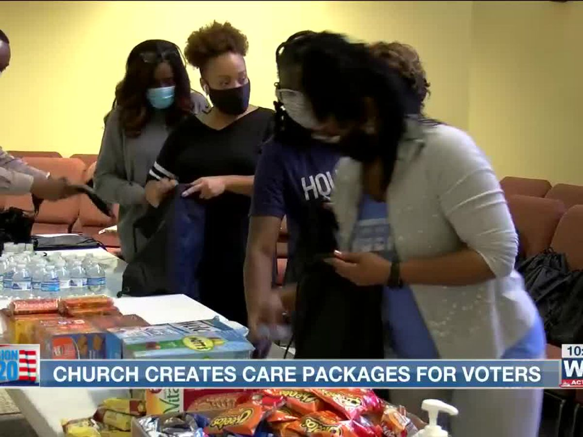Memphis church creates care packages for voters