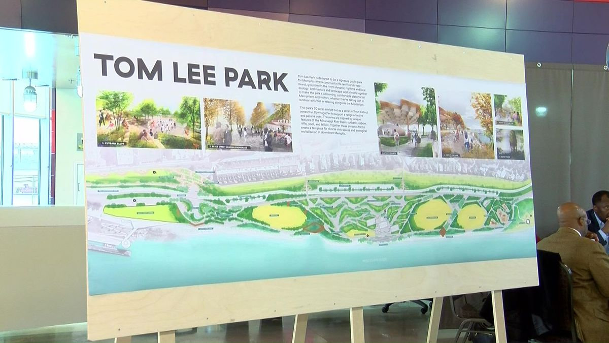 Tennessee Governor To Give 10m For Tom Lee Park Redesign