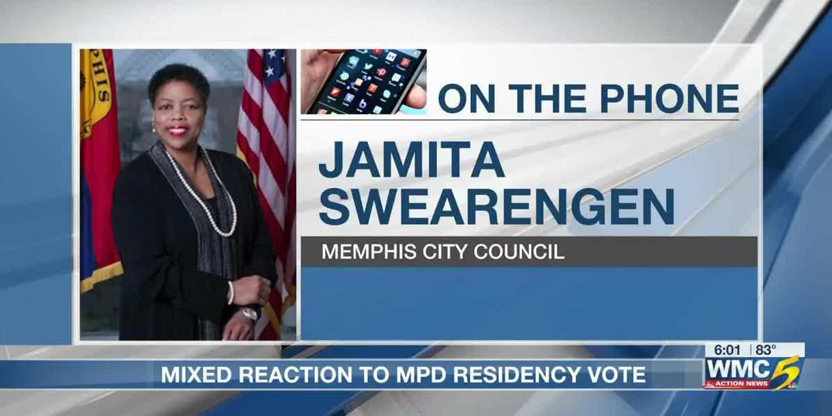 Mixed reaction after police residency referendum removed from November ballot