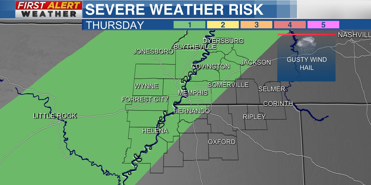 First Alert: Storms possible Thursday
