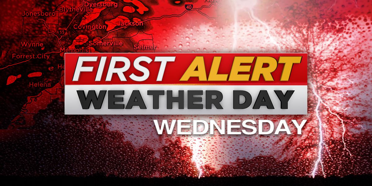 Wednesday is a FIRST ALERT WEATHER DAY; here's what you need to know