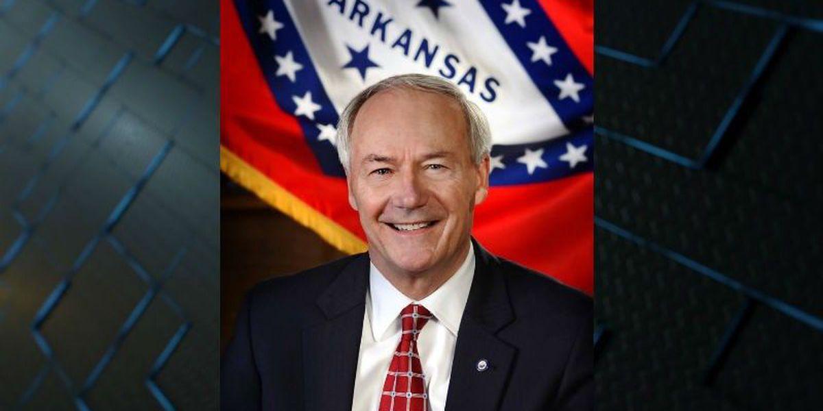 AR governor seeking re-election