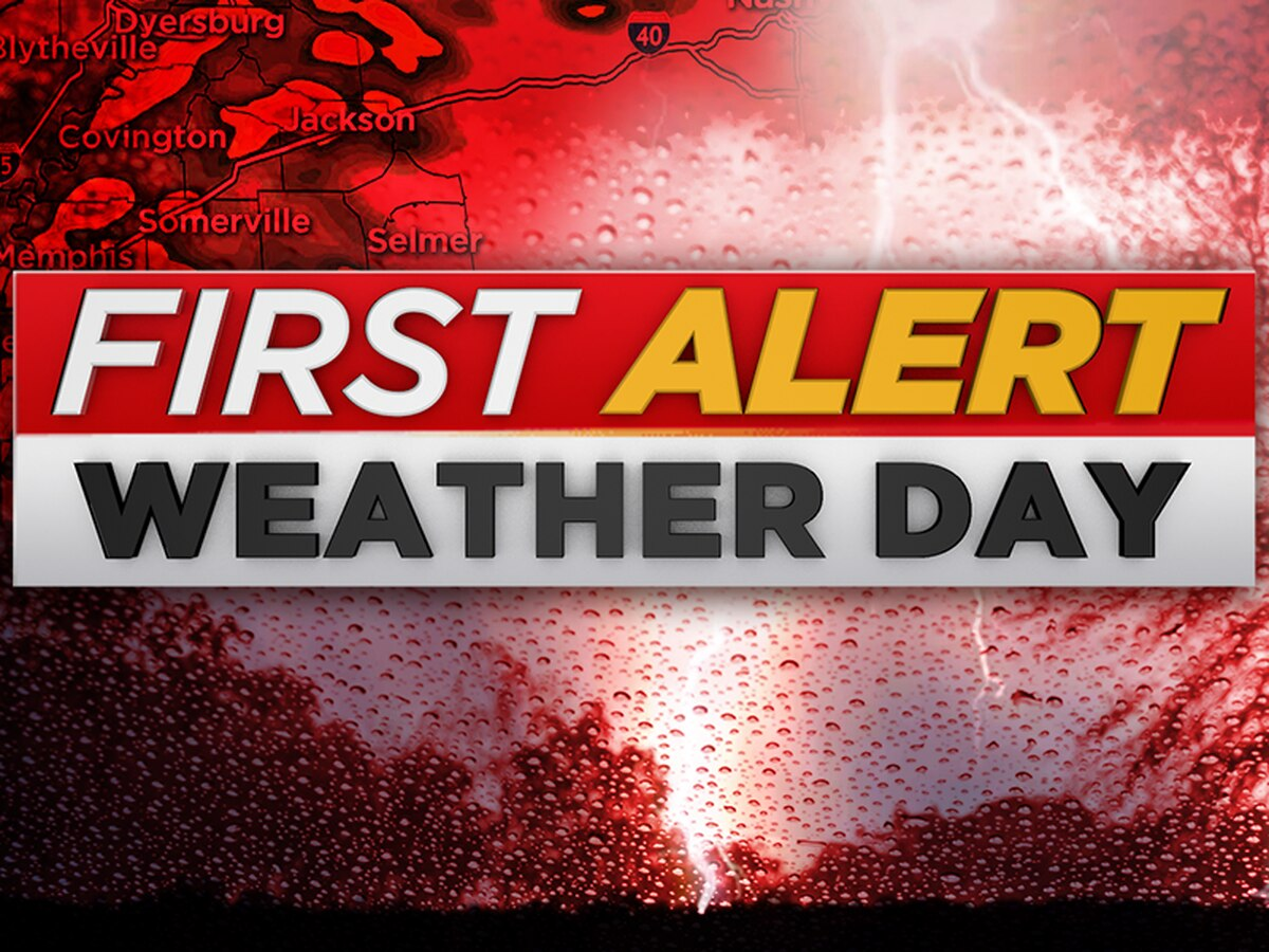 Severe threat moves out, First Alert Weather Day over