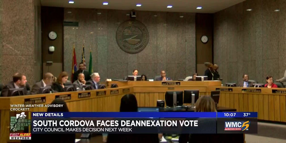 South Cordova face deannexation vote