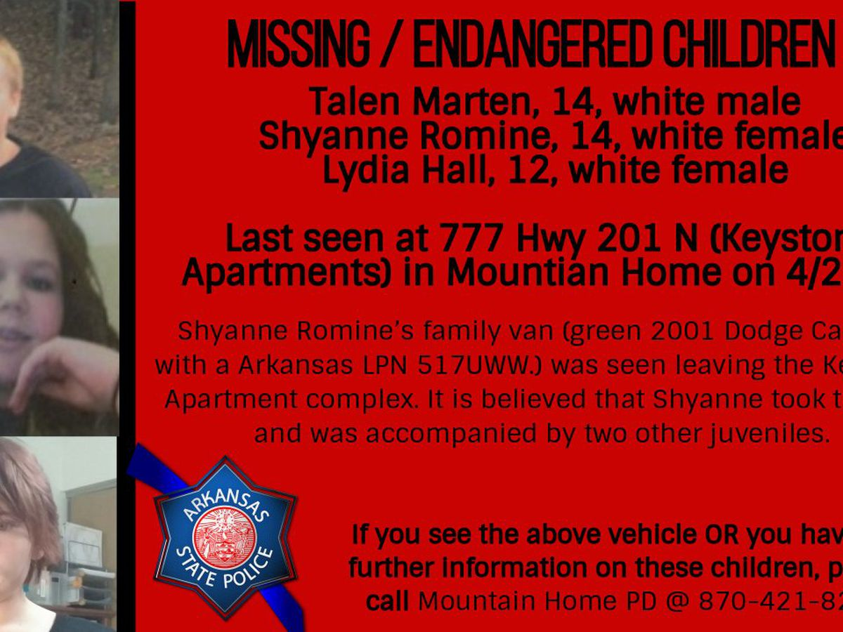 ASP: Vehicle linked to missing kids spotted in Kansas City area