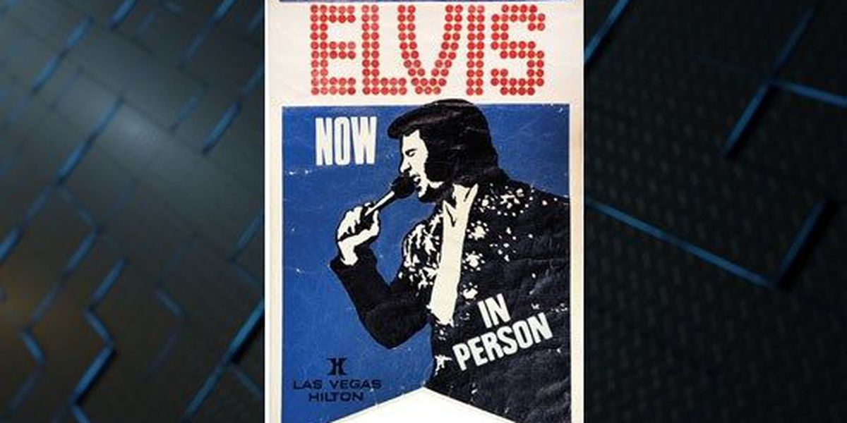 Elvis Presley memorabilia up for auction at Graceland