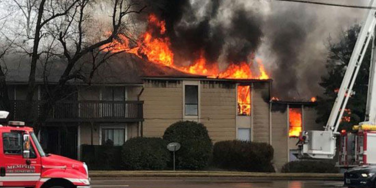 2 bodies found inside burning Memphis apartment