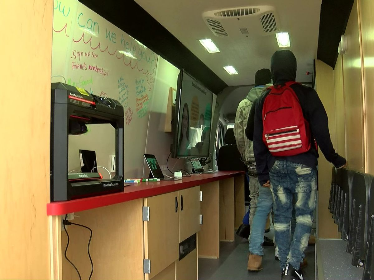 Memphis' new mobile learning van takes library to the community