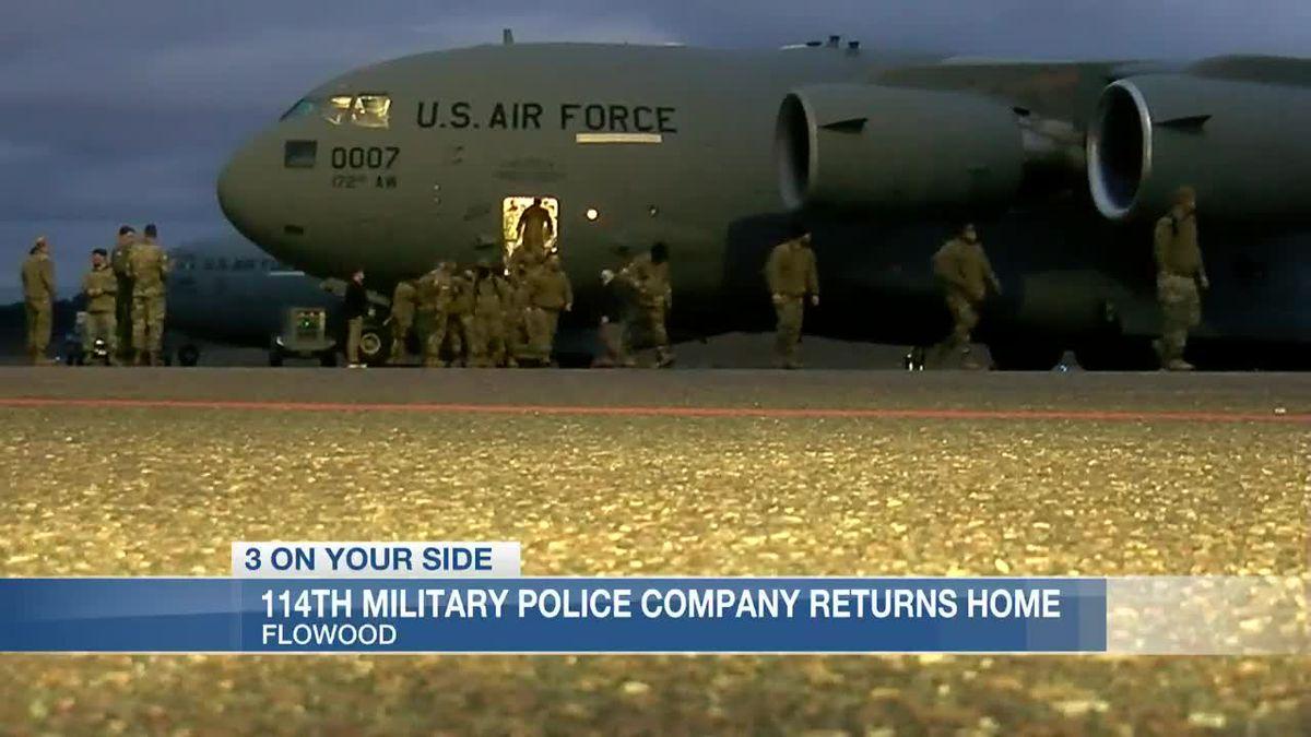 Mississippi National Guardsmen return home after successful mission in nation's capital