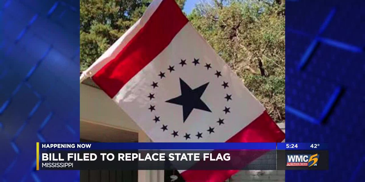 Mississippi lawmaker files bill to redesign flag