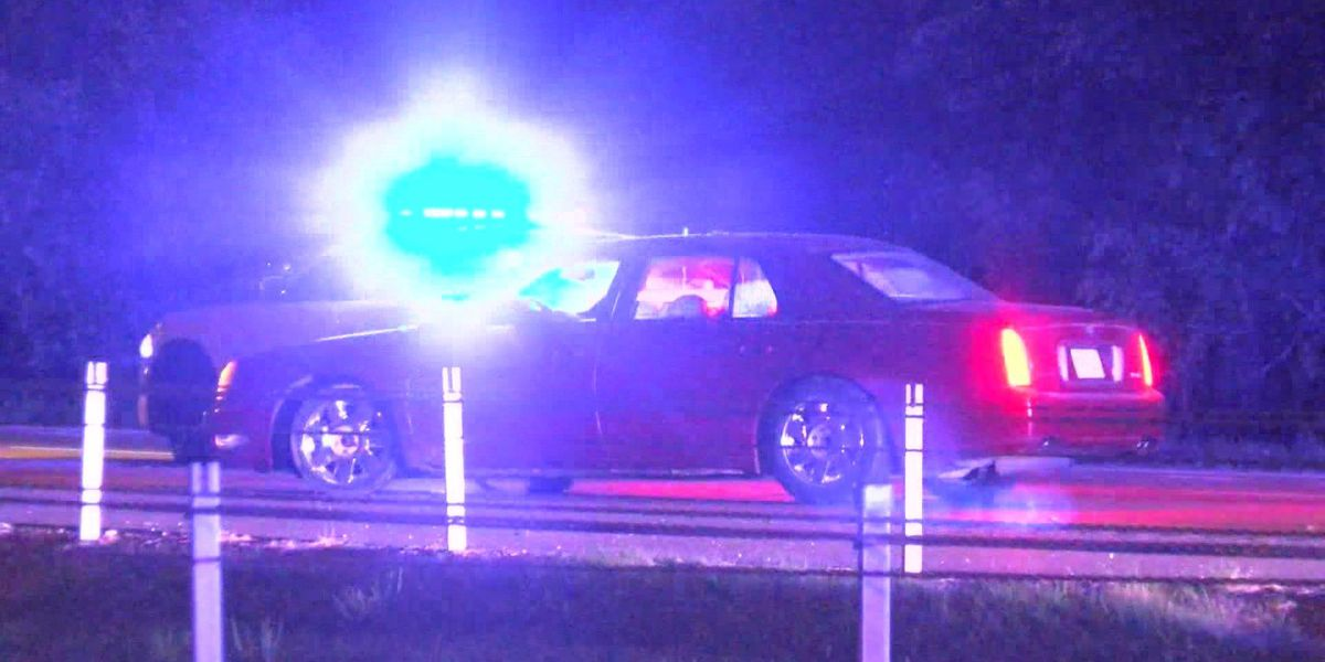 Driver arrested for DUI after crashing into police car