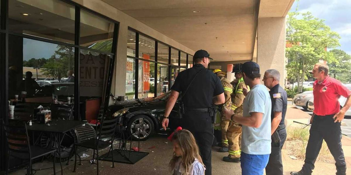 Woman, 85,crashes into Germantown storefront