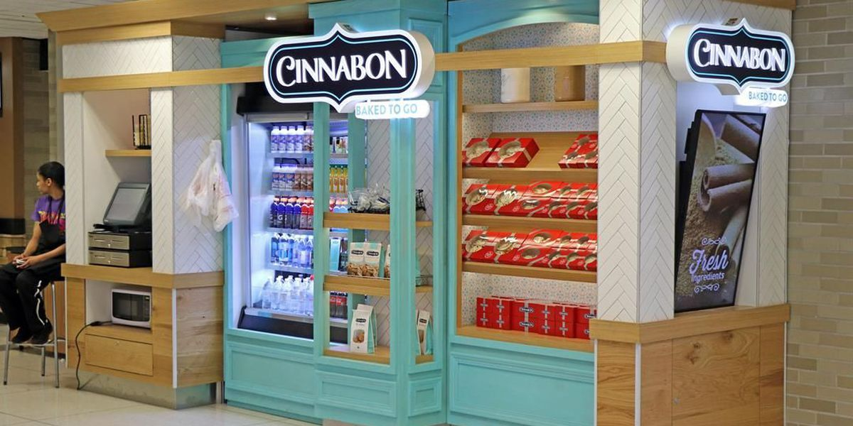 Airport adds new Cinnabon, Starbucks