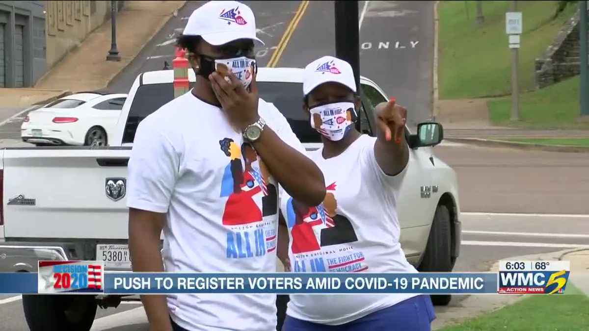 National Voter Registration Day takes different form in pandemic