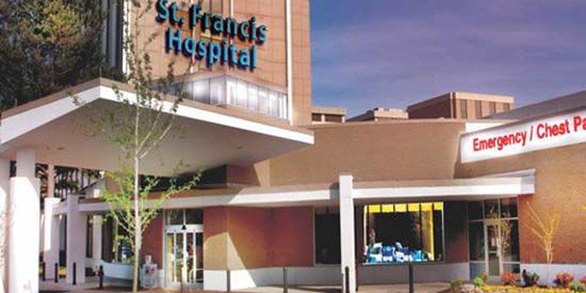 Assault ends when man pulls gun at St. Francis Hospital
