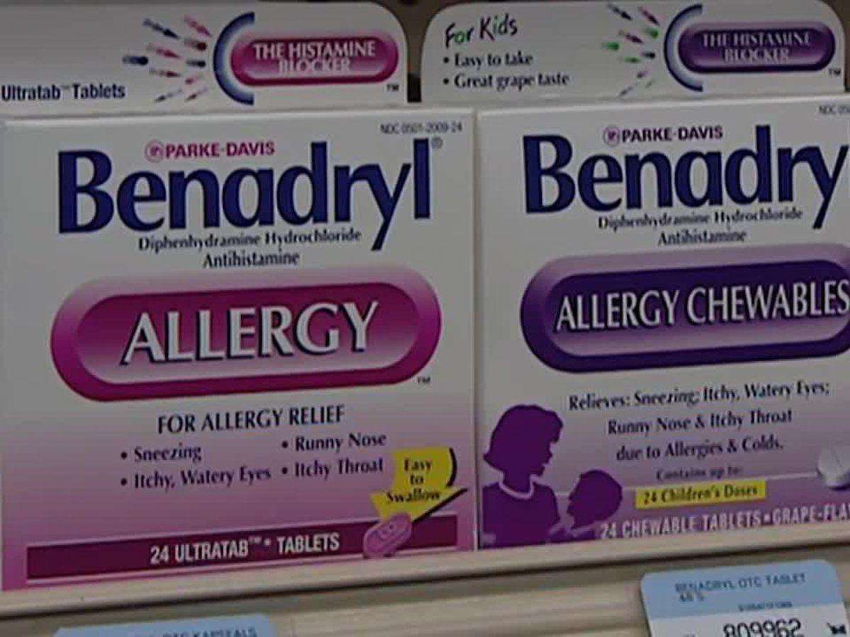 Benadryl Challenge: FDA warns public about overconsuming allergy medicine