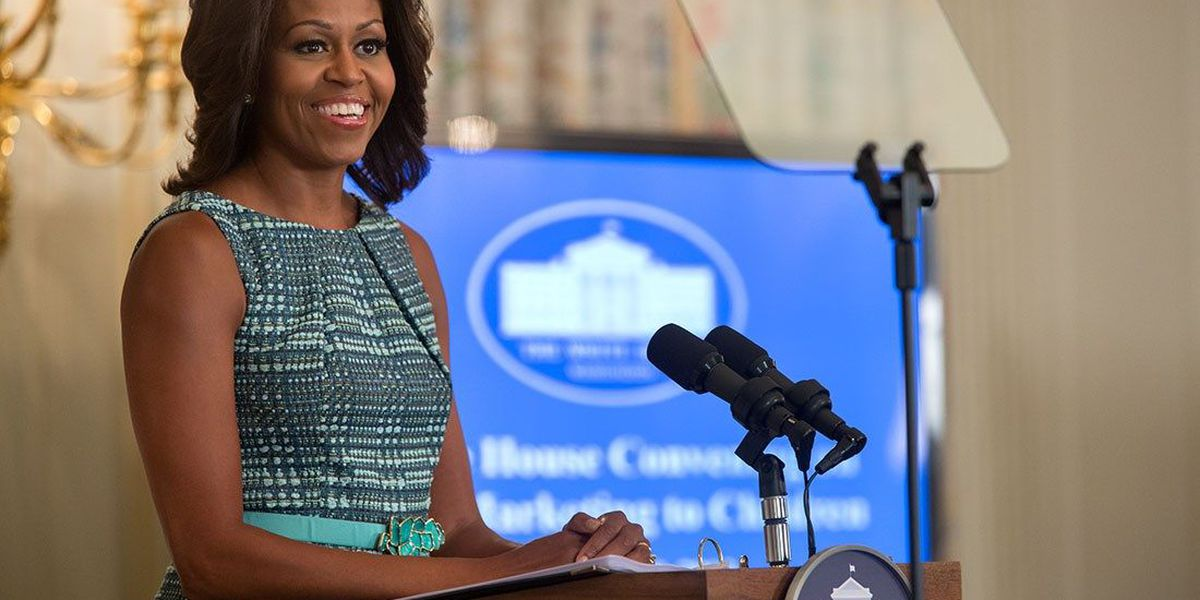 Never before seen Michelle Obama photos on display at Memphis library