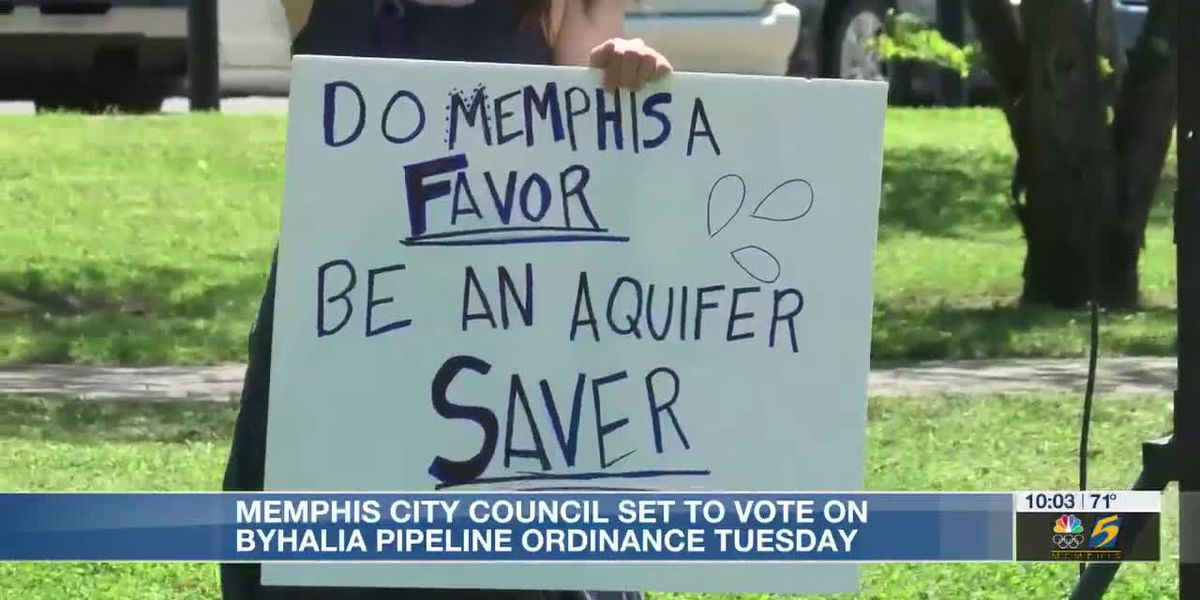 Pipeline protestors make voices heard ahead of crucial city council vote