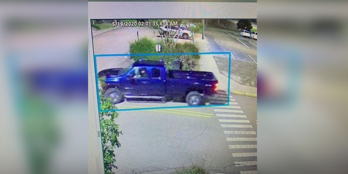 Ole Miss Police searching for truck possibly involved in act of vandalism