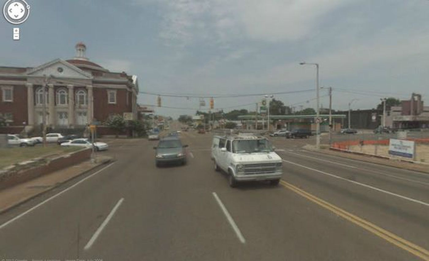 Memphis Google Street View images turn four years old