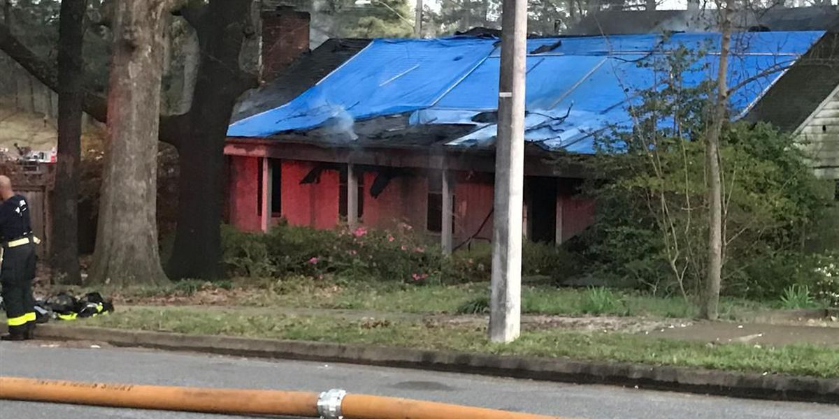 Firefighters respond to house fire near Raleigh