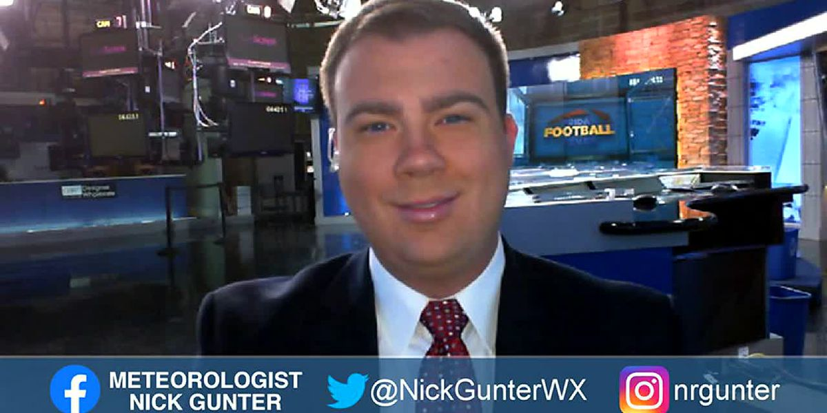 Nick's Saturday, September 26th, First Alert Forecast