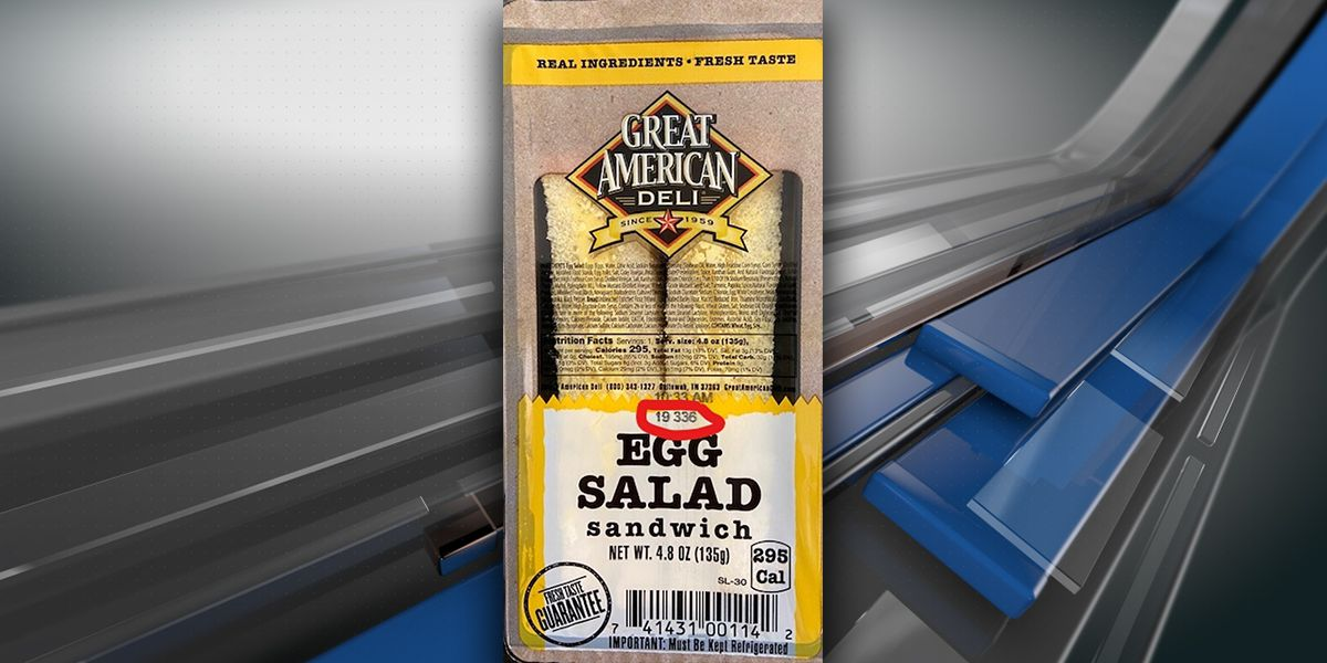 ALERT: Egg salad sandwiches recalled due to possible listeria contamination