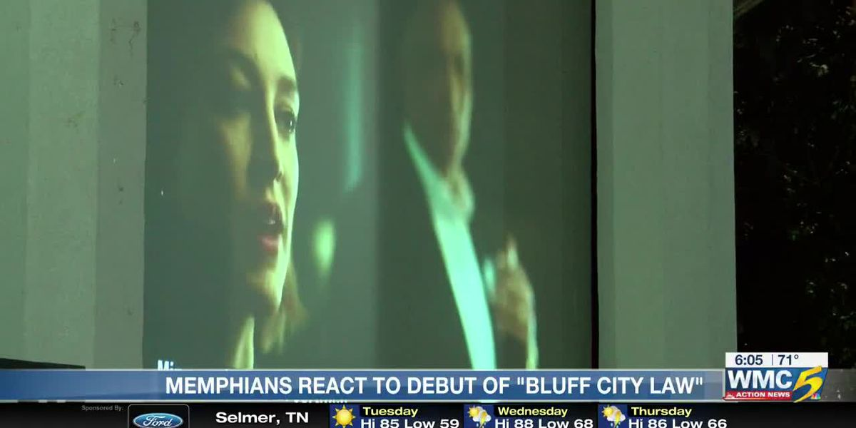 Crowds gather to see Memphis on national TV with 'Bluff City Law'