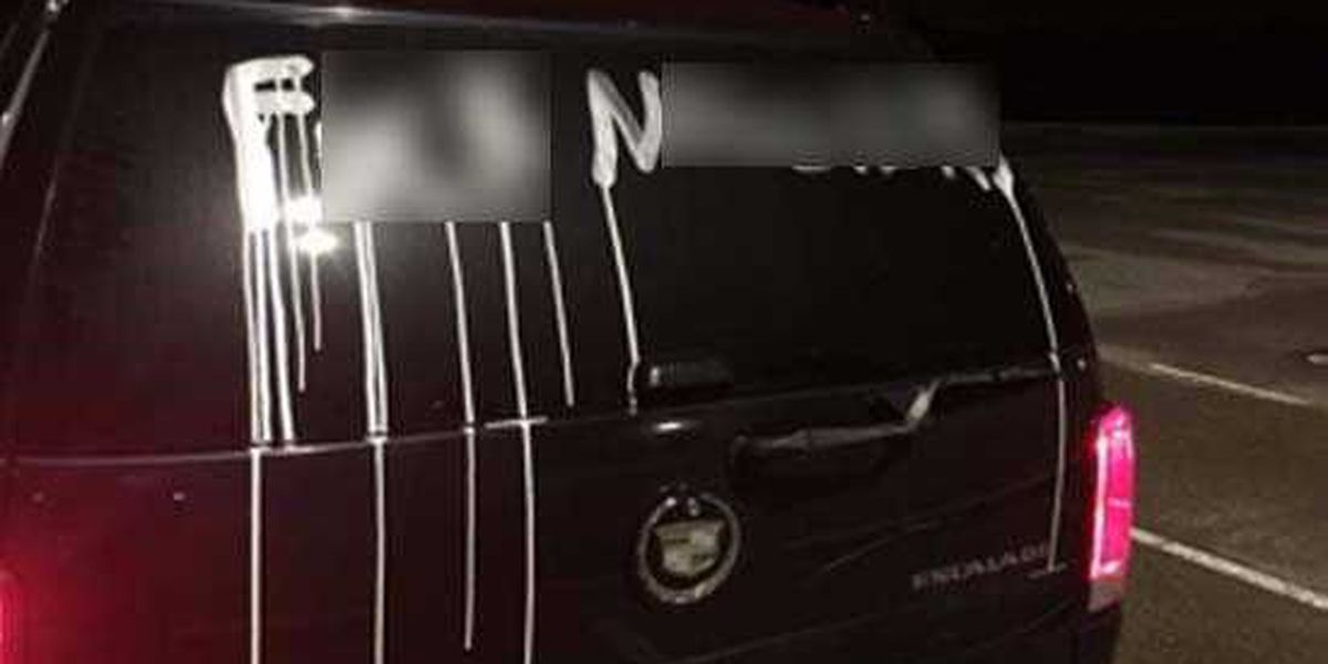 Pastor becomes victim of racist vandalism outside Collierville High School