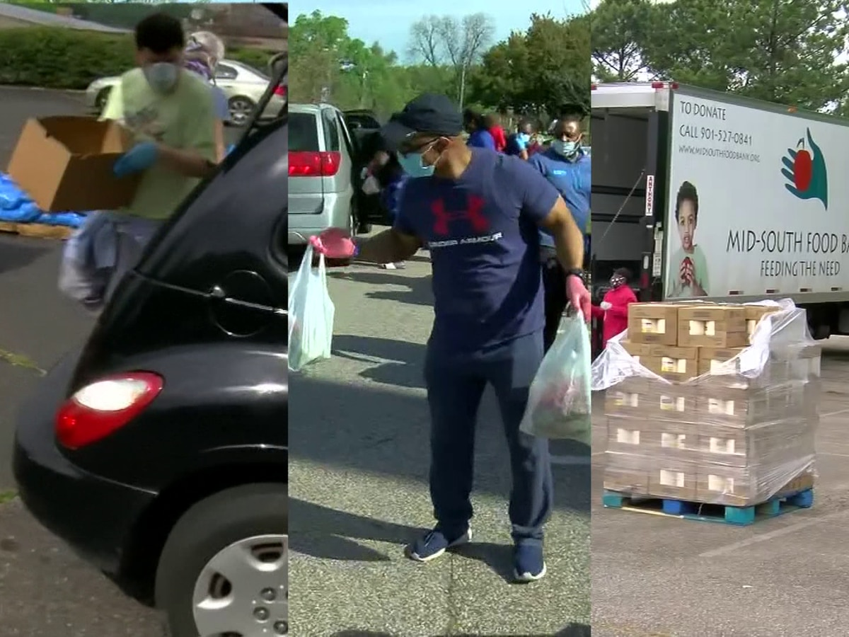 COGIC partners with Mid-South Food Bank for mobile food pantry