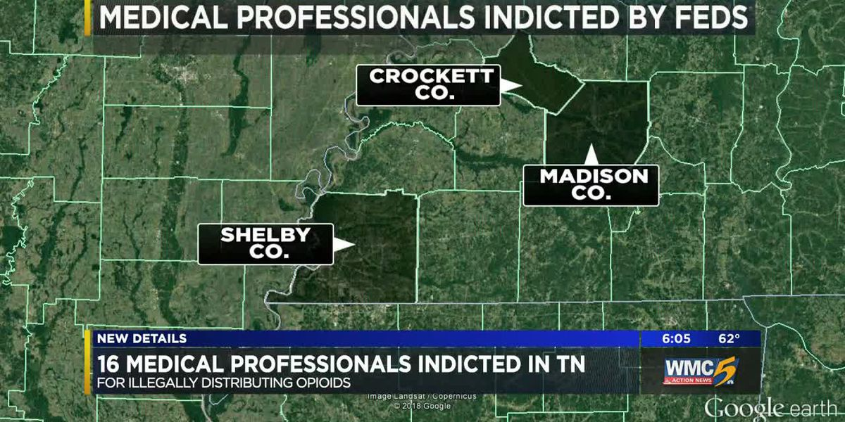 16 medical professionals indicted in TN