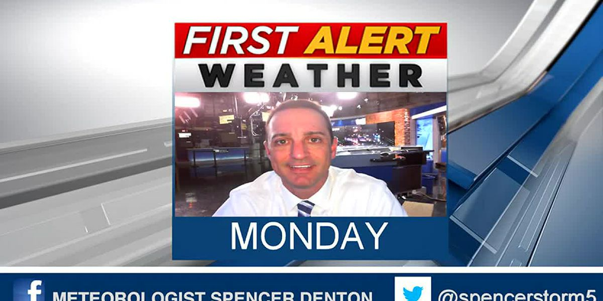 Spencer's Monday Morning Forecast