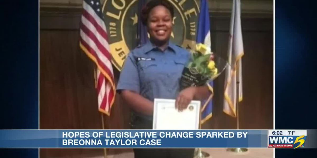 Hopes of legislative change sparked by Breonna Taylor case