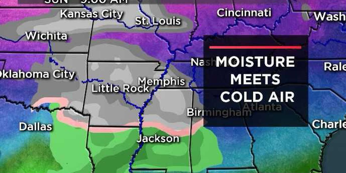 Tricky NYE forecast includes snow chances