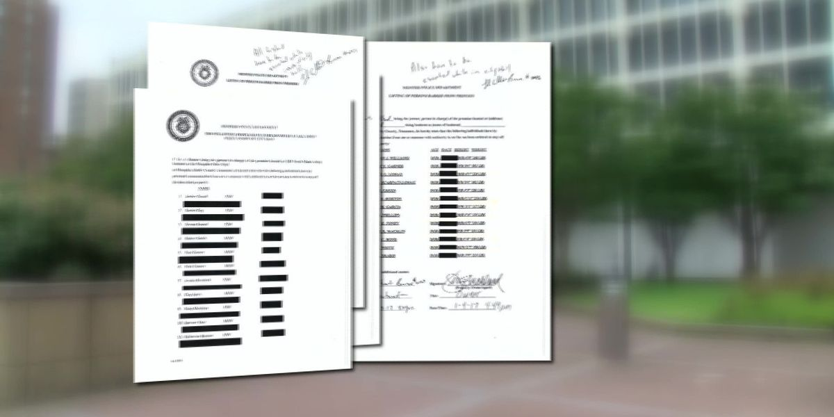 MPD releases list of those on Memphis City Hall's 'Blacklist'