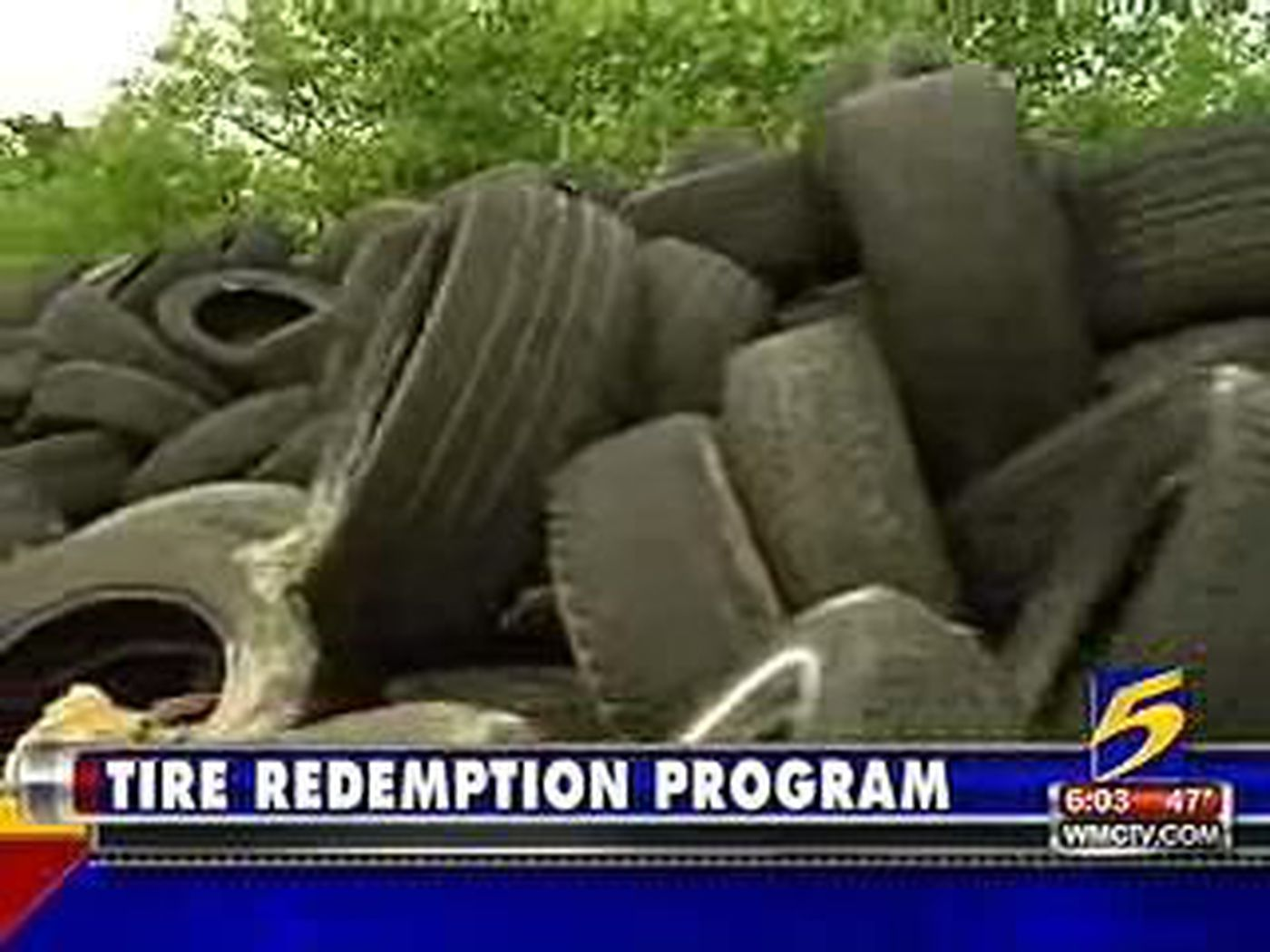 Memphis Shelby County Team Up To Offer Cash For Tires