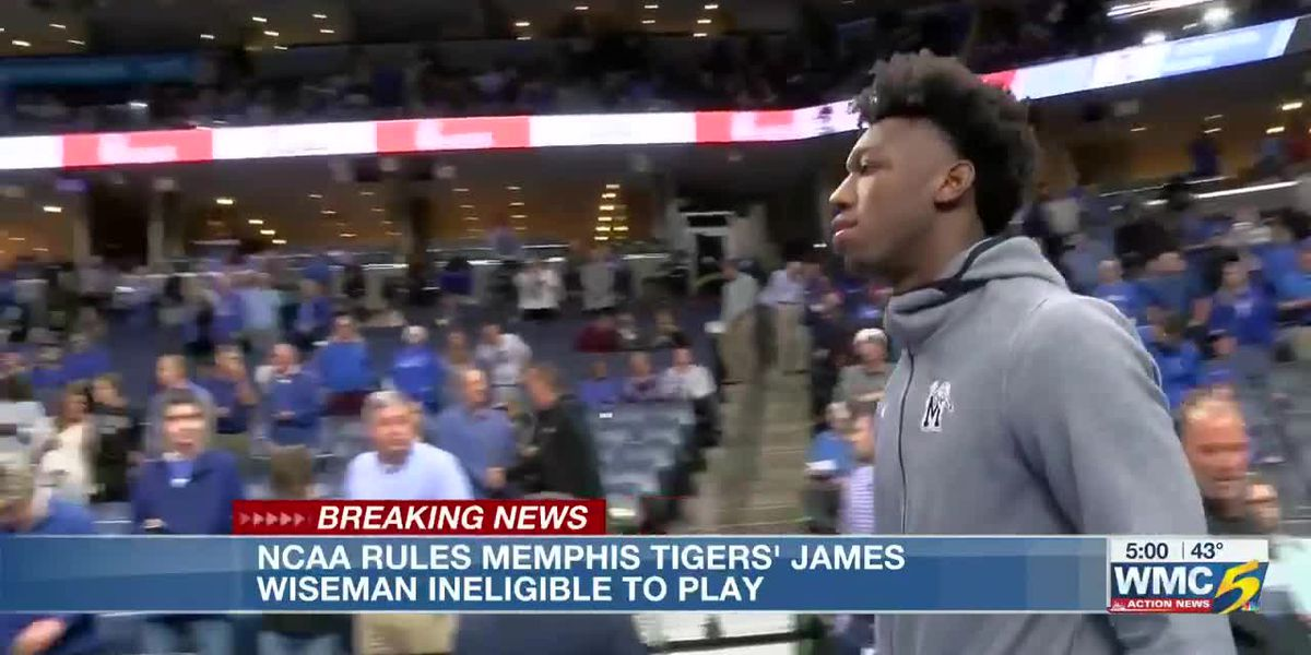 Attorney says NCAA declared James Wiseman ineligible to play for Memphis