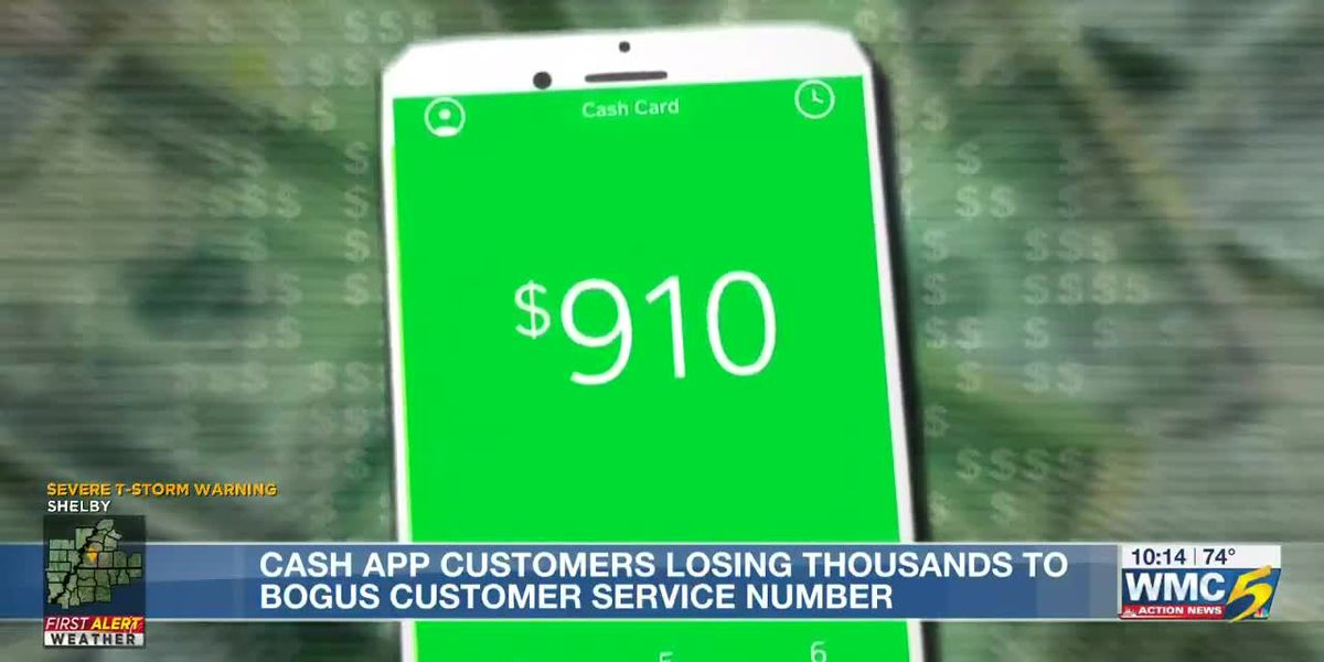 Memphis woman says she was duped by a fake customer service number for Cash App