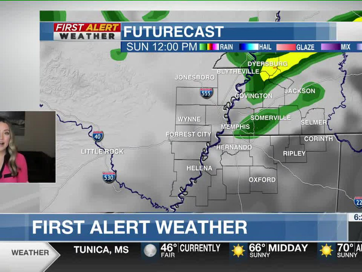 Rain chances increase for the weekend