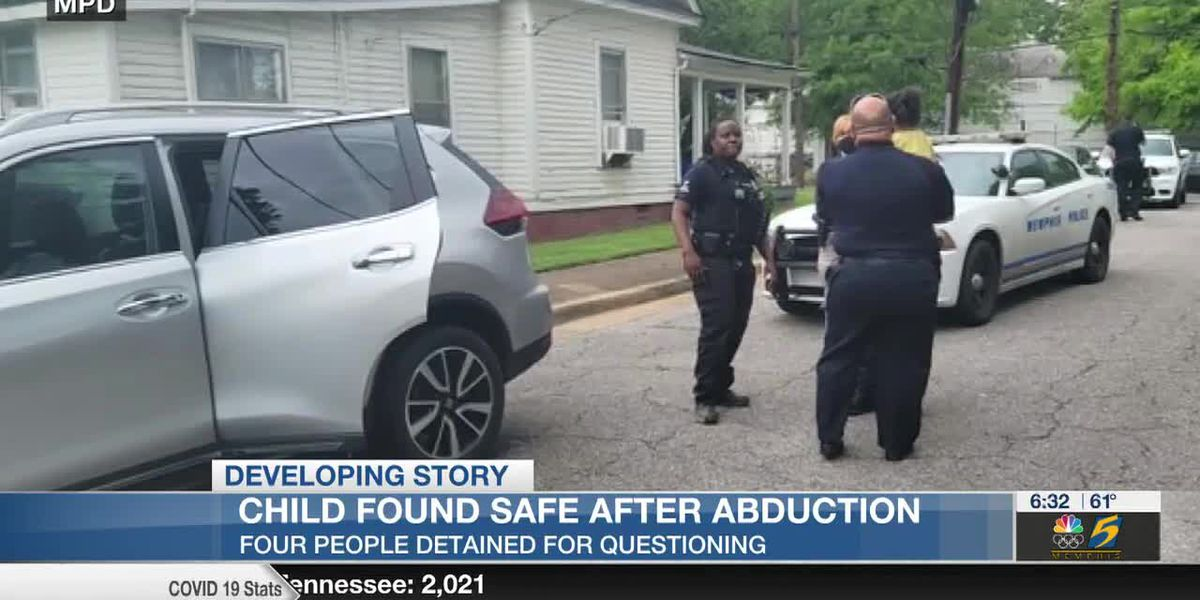 Child found safe after being abducted in stolen SUV at Memphis gas station