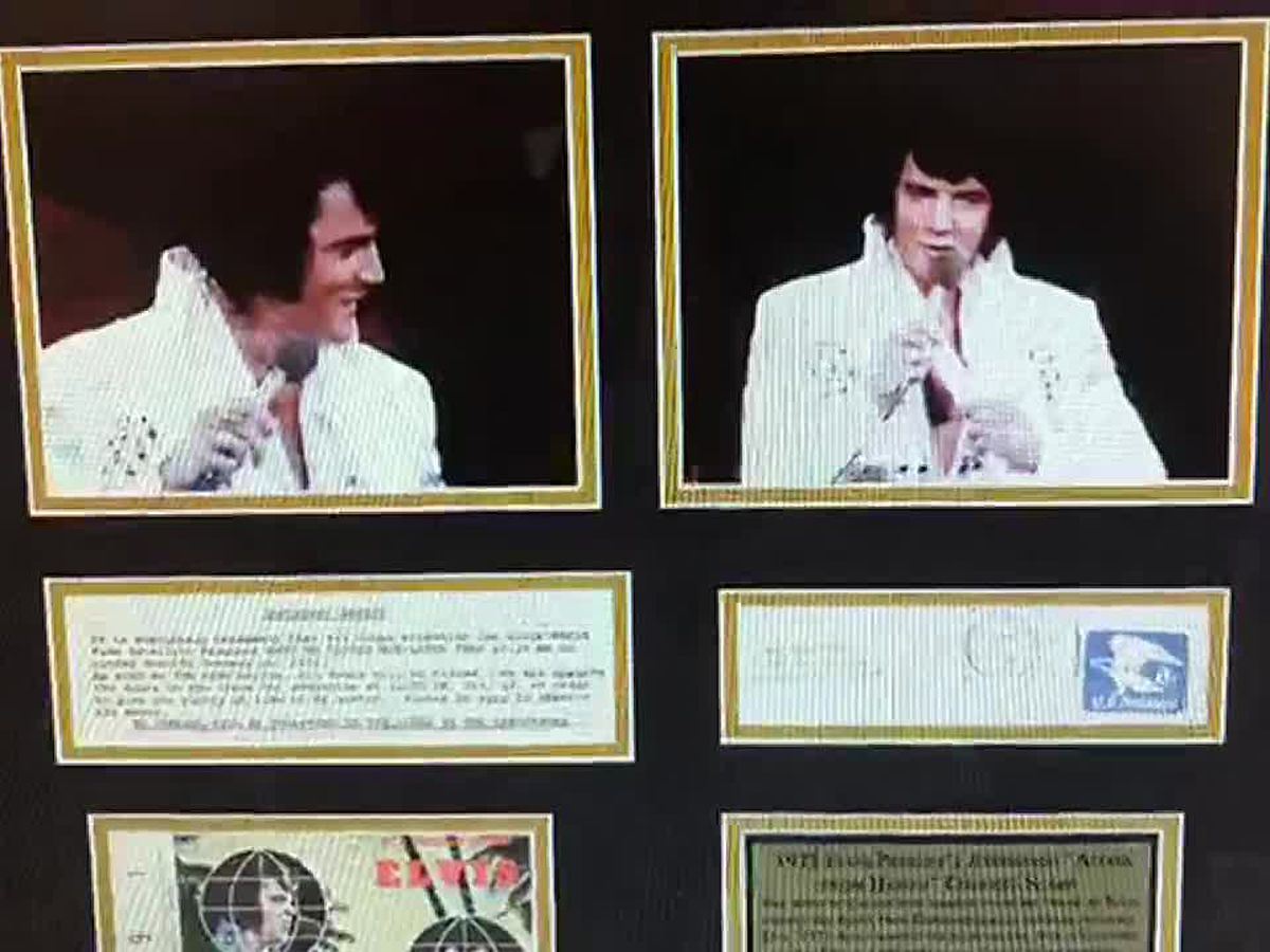 Bidding underway for Elvis Week's Auction at Graceland