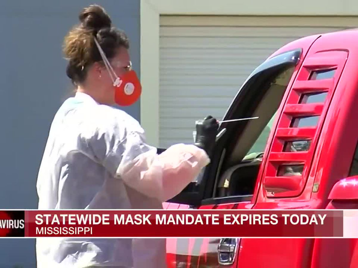 Miss. statewide mask mandate set to expire Wednesday