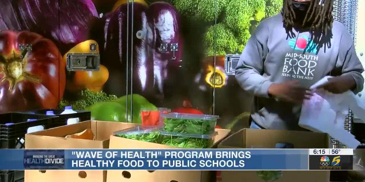 Creating a healthier Memphis: Program brings healthy foods to public schools